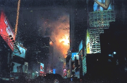 Times Square New Years Eve with Sharp Internet Viewcam